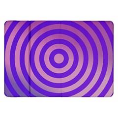 Circle Target Focus Concentric Samsung Galaxy Tab 8 9  P7300 Flip Case by Celenk