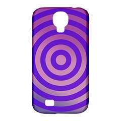 Circle Target Focus Concentric Samsung Galaxy S4 Classic Hardshell Case (pc+silicone) by Celenk