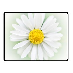 Art Daisy Flower Art Flower Deco Double Sided Fleece Blanket (small)