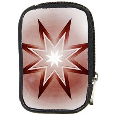 Star Christmas Festival Decoration Compact Camera Cases by Celenk