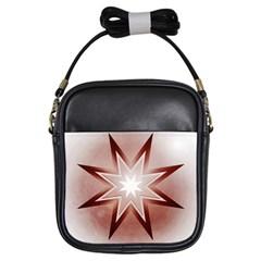 Star Christmas Festival Decoration Girls Sling Bags by Celenk