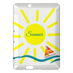 Summer Beach Holiday Holidays Sun Kindle Fire Hdx Hardshell Case by Celenk