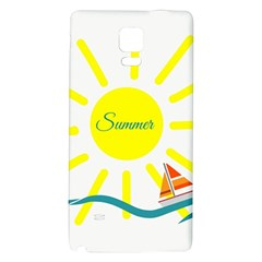 Summer Beach Holiday Holidays Sun Galaxy Note 4 Back Case by Celenk