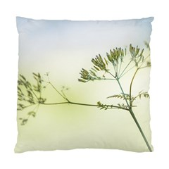 Spring Plant Nature Blue Green Standard Cushion Case (one Side) by Celenk