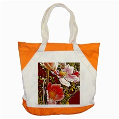 Flower Hostanamone Drawing Plant Accent Tote Bag by Celenk