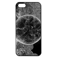Space Universe Earth Rocket Apple Iphone 5 Seamless Case (black) by Celenk