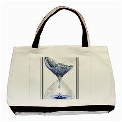 Time Water Movement Drop Of Water Basic Tote Bag by Celenk