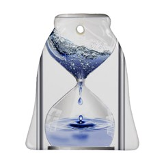 Time Water Movement Drop Of Water Ornament (bell)