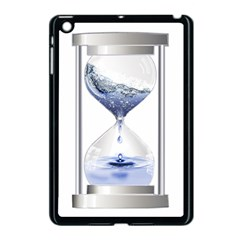 Time Water Movement Drop Of Water Apple Ipad Mini Case (black) by Celenk