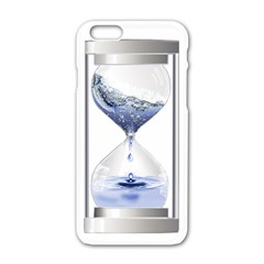 Time Water Movement Drop Of Water Apple Iphone 6/6s White Enamel Case by Celenk