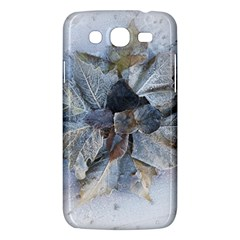 Winter Frost Ice Sheet Leaves Samsung Galaxy Mega 5 8 I9152 Hardshell Case  by Celenk
