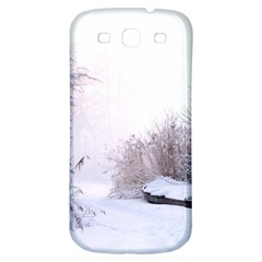 Winter Snow Ice Freezing Frozen Samsung Galaxy S3 S Iii Classic Hardshell Back Case by Celenk