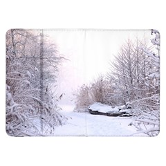 Winter Snow Ice Freezing Frozen Samsung Galaxy Tab 8 9  P7300 Flip Case by Celenk