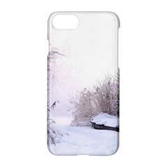 Winter Snow Ice Freezing Frozen Apple Iphone 8 Hardshell Case