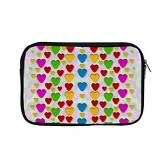 So Sweet And Hearty As Love Can Be Apple Ipad Mini Zipper Cases by pepitasart