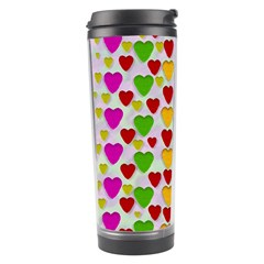So Sweet And Hearty As Love Can Be Travel Tumbler by pepitasart