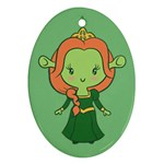 Ogress Oval Ornament