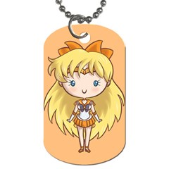 Cutie Venus/v Dog Tag (two Sided)  by Ellador
