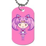 CutiE Chibimoon/Saturn Dog Tag (Two-sided)