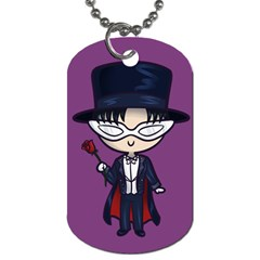 Cutie Tuxedo Mask/moon Dog Tag (two Sided)