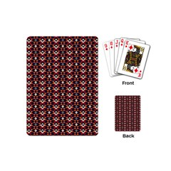 Native American Pattern 22 Playing Cards (mini)  by Cveti