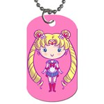 CutiE Moon/Chibimoon Dog Tag (Two-sided)