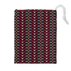 Native American Pattern 23 Drawstring Pouches (extra Large) by Cveti