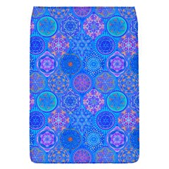 Geometric Hand Drawing Pattern Blue  Flap Covers (s)  by Cveti