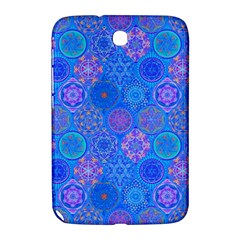 Geometric Hand Drawing Pattern Blue  Samsung Galaxy Note 8 0 N5100 Hardshell Case  by Cveti