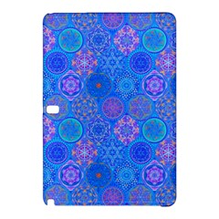 Geometric Hand Drawing Pattern Blue  Samsung Galaxy Tab Pro 10 1 Hardshell Case by Cveti