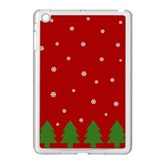 Christmas Pattern Apple Ipad Mini Case (white) by Valentinaart