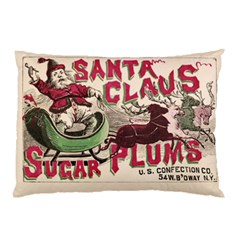 Vintage Santa Claus  Pillow Case by Valentinaart