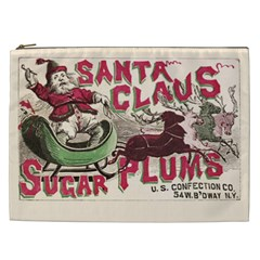 Vintage Santa Claus  Cosmetic Bag (xxl)  by Valentinaart