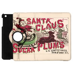 Vintage Santa Claus  Apple Ipad Mini Flip 360 Case by Valentinaart