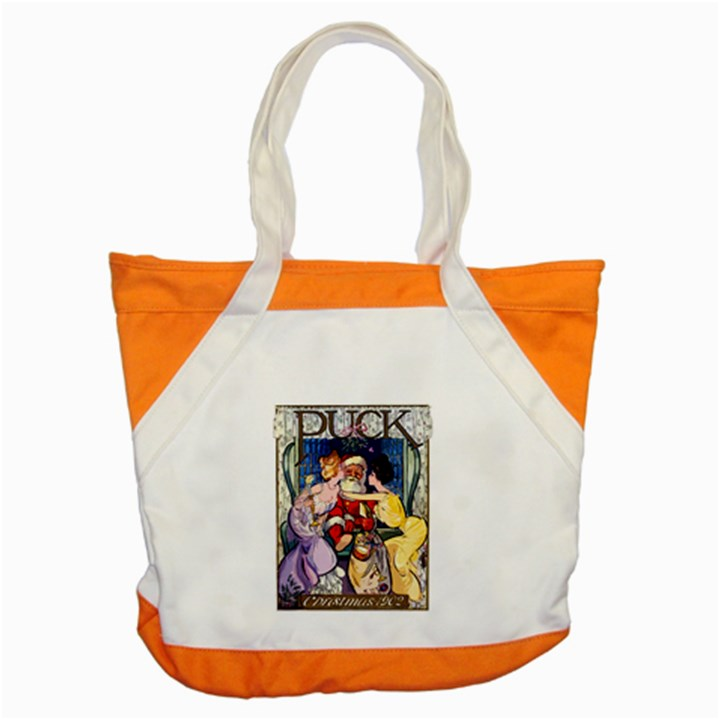 Vintage Santa Claus  Accent Tote Bag