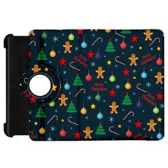 Christmas Pattern Kindle Fire Hd 7  by Valentinaart