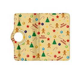 Christmas Pattern Kindle Fire Hdx 8 9  Flip 360 Case by Valentinaart