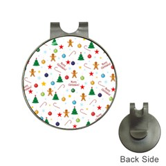 Christmas Pattern Hat Clips With Golf Markers by Valentinaart