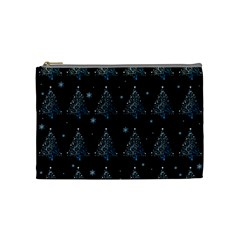 Christmas Tree   Pattern Cosmetic Bag (medium)  by Valentinaart
