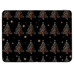 Christmas Tree   Pattern Samsung Galaxy Tab 7  P1000 Flip Case by Valentinaart