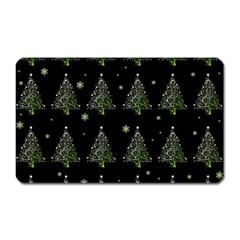 Christmas Tree   Pattern Magnet (rectangular) by Valentinaart