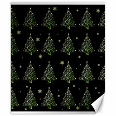 Christmas Tree   Pattern Canvas 8  X 10  by Valentinaart