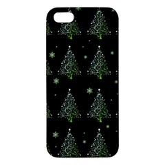 Christmas Tree   Pattern Apple Iphone 5 Premium Hardshell Case by Valentinaart