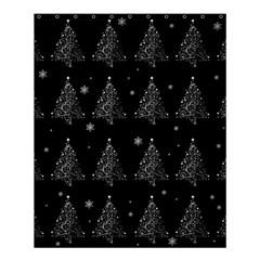 Christmas Tree   Pattern Shower Curtain 60  X 72  (medium)  by Valentinaart