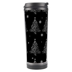 Christmas Tree   Pattern Travel Tumbler by Valentinaart