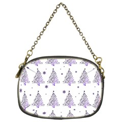 Christmas Tree   Pattern Chain Purses (two Sides)  by Valentinaart