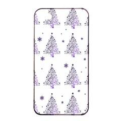 Christmas Tree   Pattern Apple Iphone 4/4s Seamless Case (black) by Valentinaart