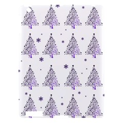 Christmas Tree   Pattern Apple Ipad 3/4 Hardshell Case by Valentinaart