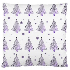 Christmas Tree   Pattern Large Cushion Case (two Sides) by Valentinaart