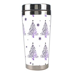 Christmas Tree   Pattern Stainless Steel Travel Tumblers by Valentinaart